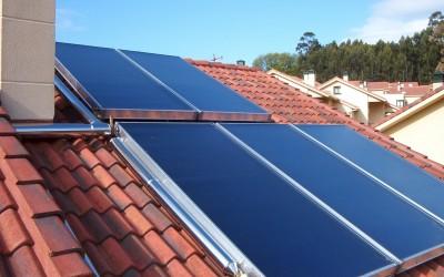 energias renovables, energía solar térmica para agua caliente sanitaria